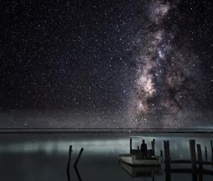 St George Island at Night