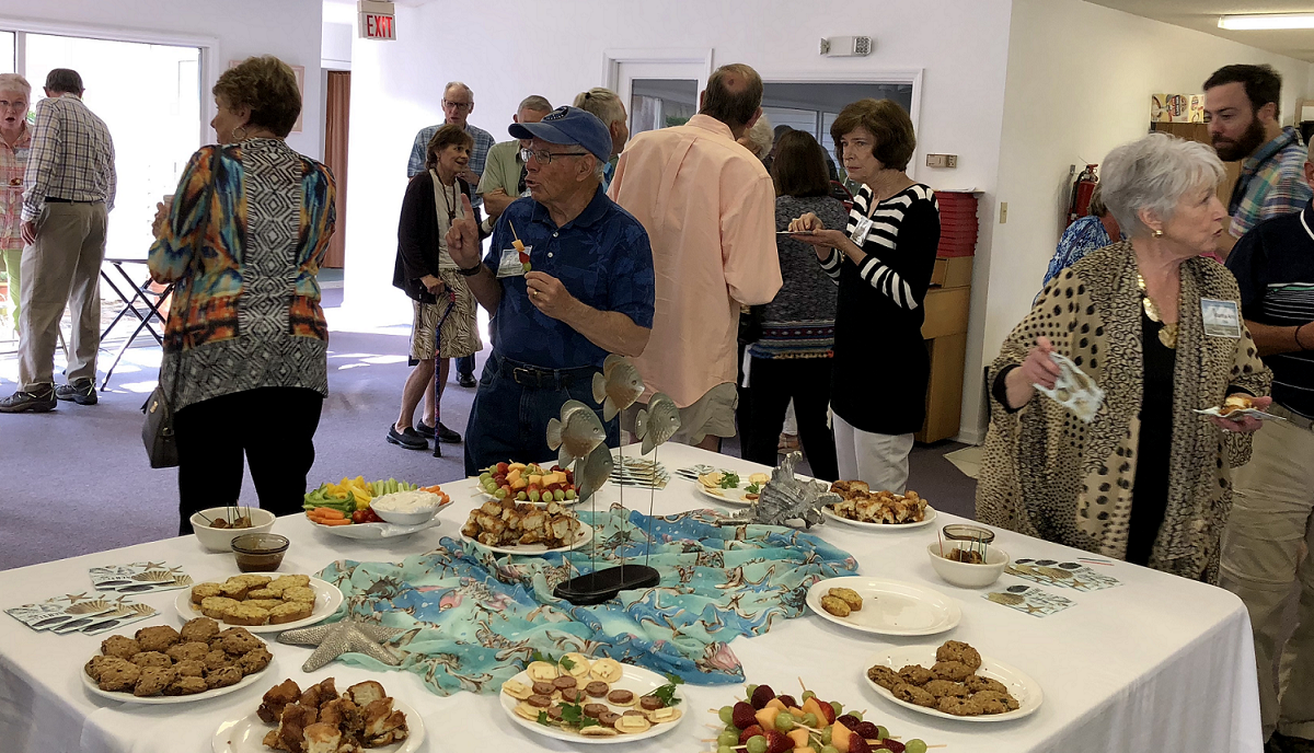 Following the Concert, Attendees Enjoyed Snacks and Fellowship Time