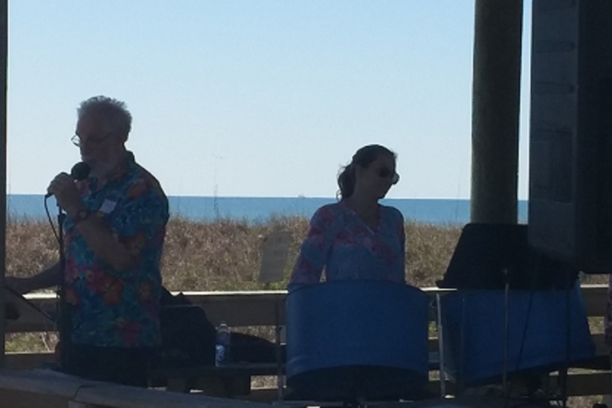 The Trinity Steel Pans performed a free concert for the public at the SGI Lighthouse Pavilion
