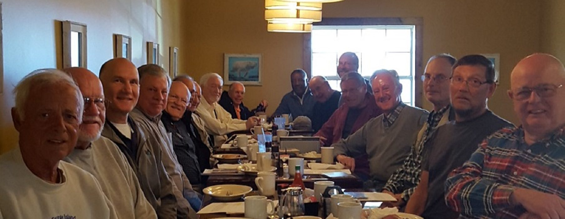 Men's Devotional Bible Study Breakfast Every Wednesday Morning at 8:15