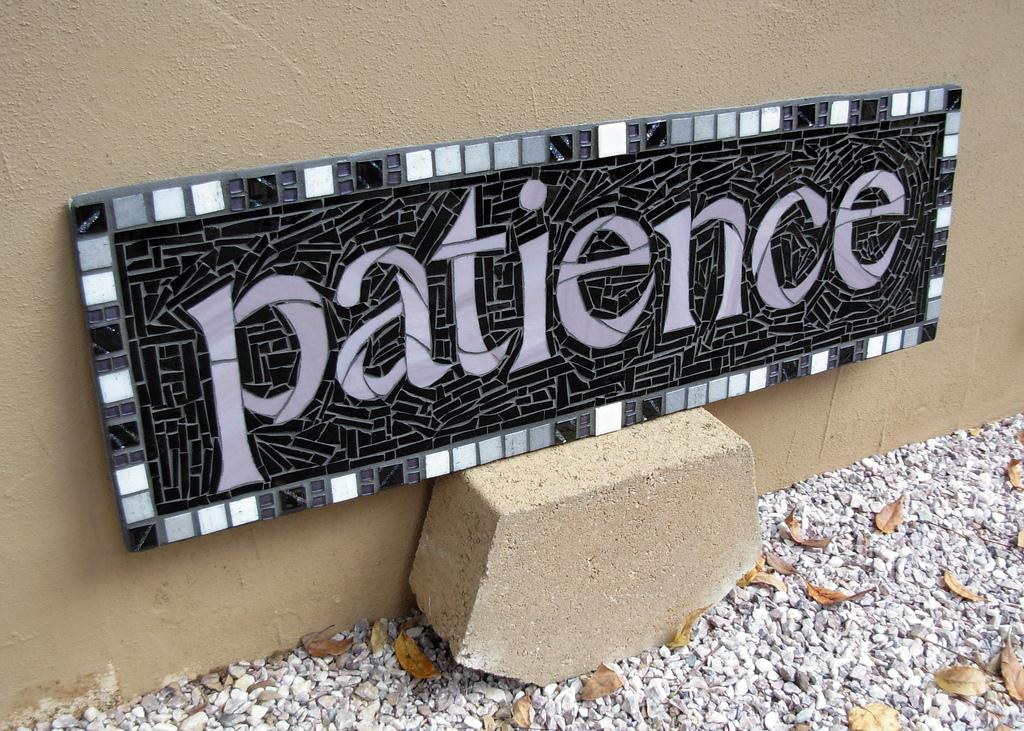 Prayer About Impatience