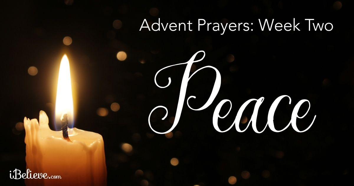 """Advent Week 2 Peace """"All Creation is Full of the Knowledge of the Lord """""""